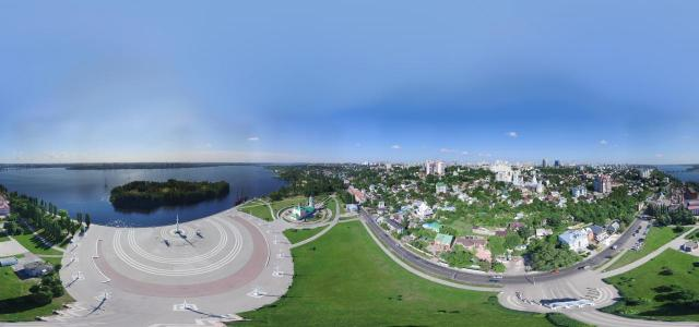 A town square | Airpanorama