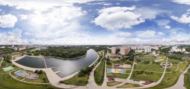 "Veshnyaki, Great Count Pond | Park ""Rainbow"", al. Zhemchugovoy, 5A, Moscow, Russia, 111402 